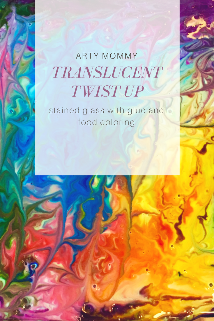 Translucent Twist Up (Stained Glass Painting for Kids) – ARTY MOMMY